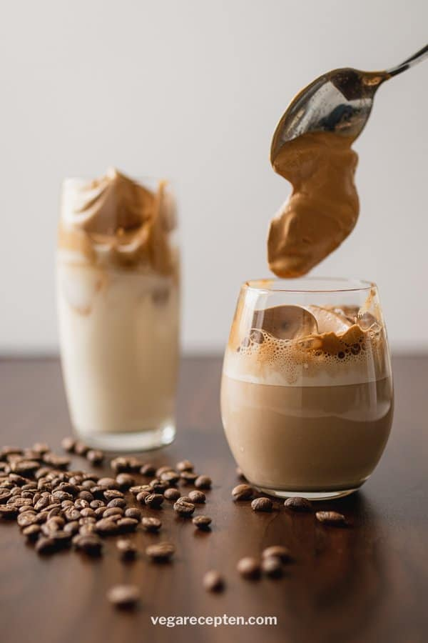 Dalgona coffee recipe frappe with instant coffee