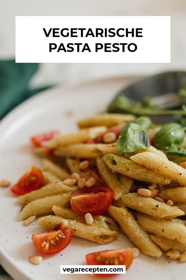 Hoe maak je vegetarische pasta pesto