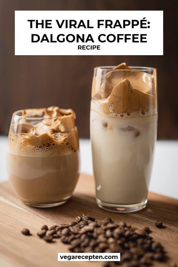 The viral frappe dalgona coffee recipe