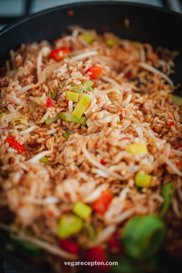 recipe nasi goreng vegetarian