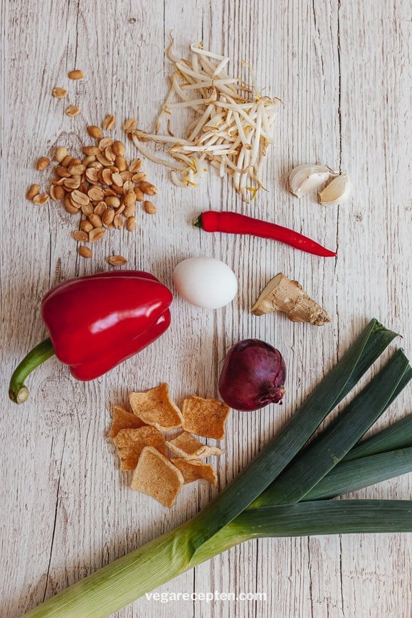nasi goreng vegetarian ingredients