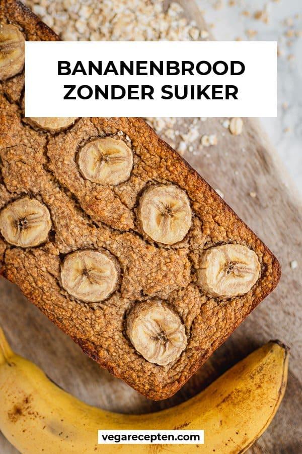 Bananenbrood zonder suiker