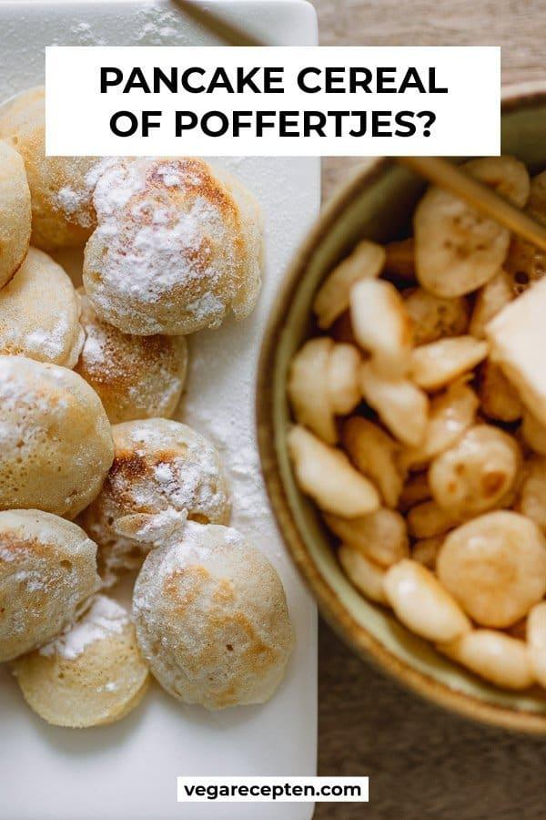 Pancake cereal of poffertjes