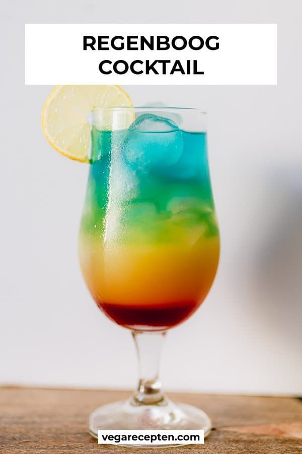 Regenboog cocktail