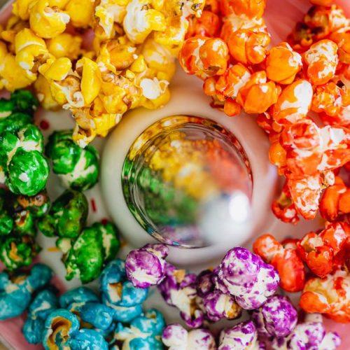 Zoete popcorn maken