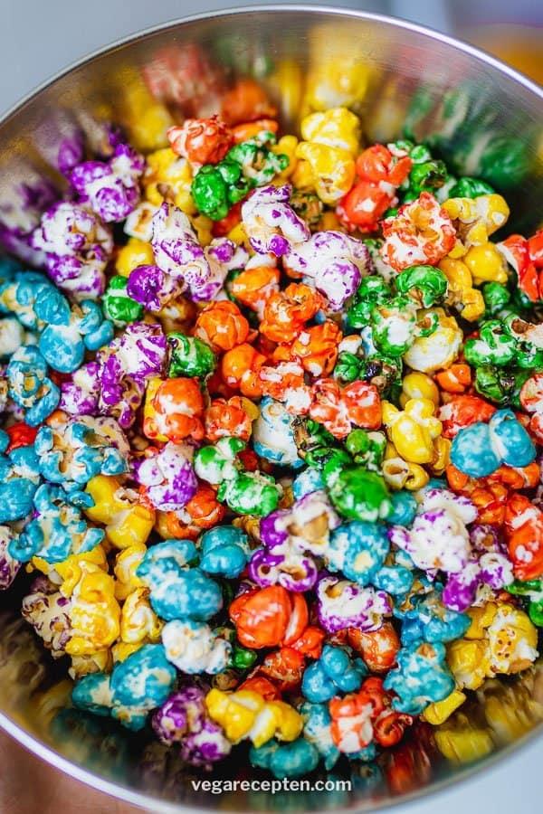 Zoete popcorn traktatie