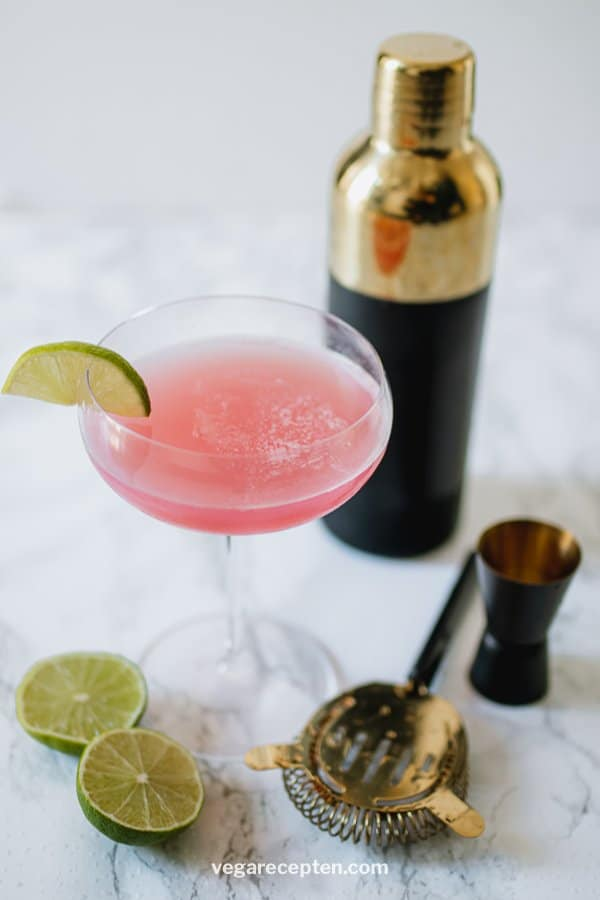 Cosmopolitan recept roze cocktail