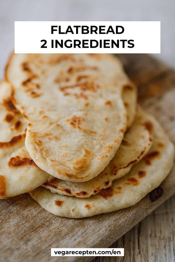 flatbread 2 ingredients