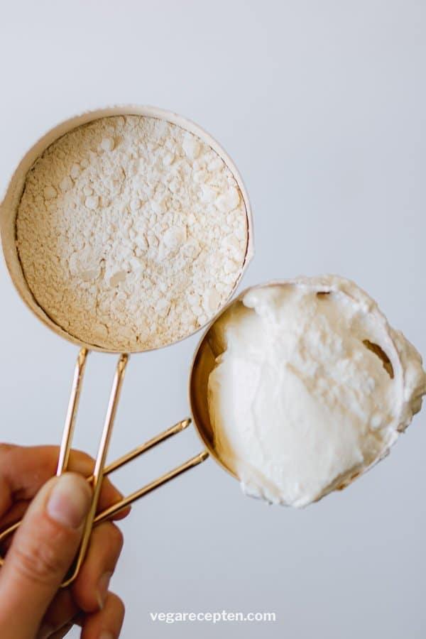 Flatbread self-raising flour and yogurt