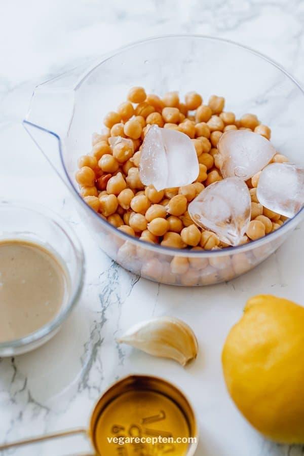 Hummus ingredienten