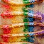 Rainbow churros recipe