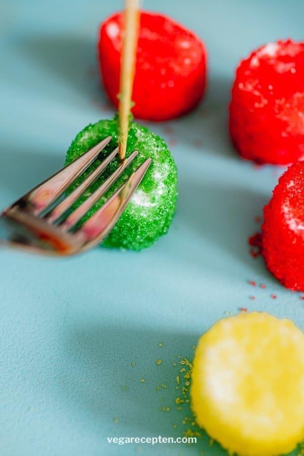 Rainbow marshmallows recipe