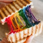 Regenboog tosti recept