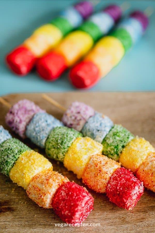 Rainbow treat marshmallows