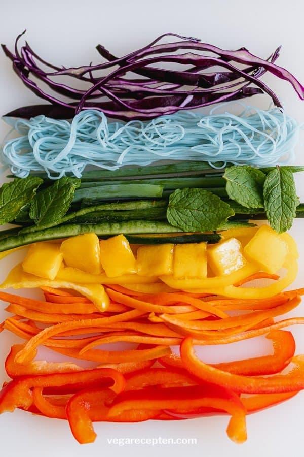 Vietnamese spring rolls ingredienten