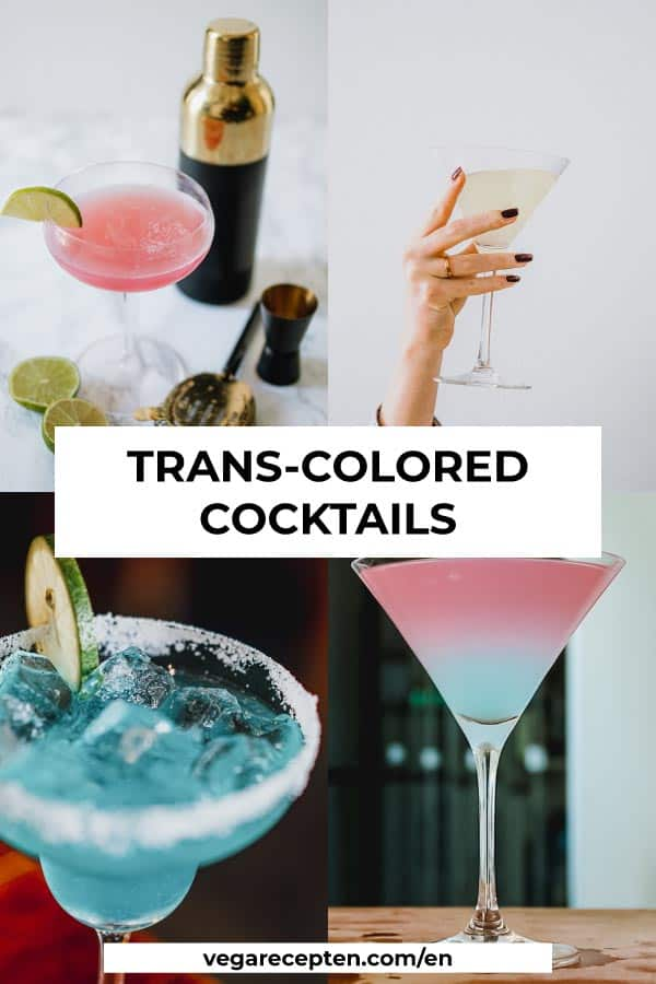 pride cocktail trans flag colors
