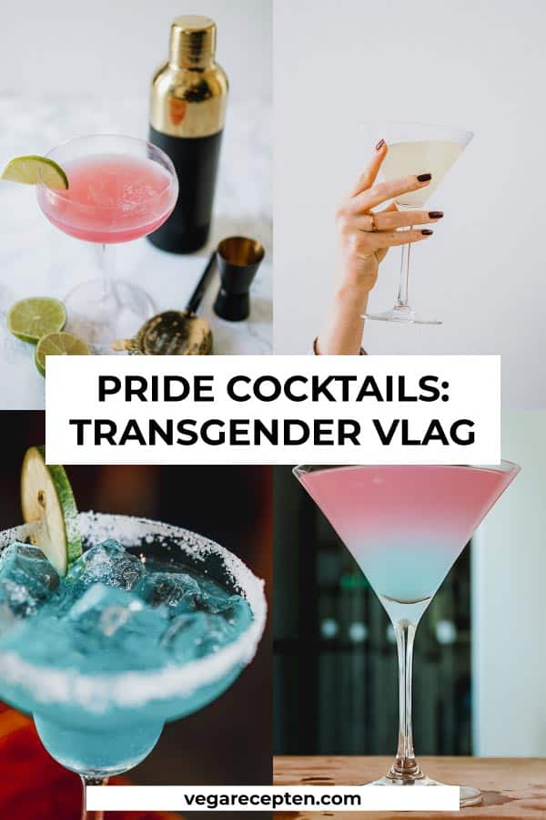 pride cocktails transgender vlag