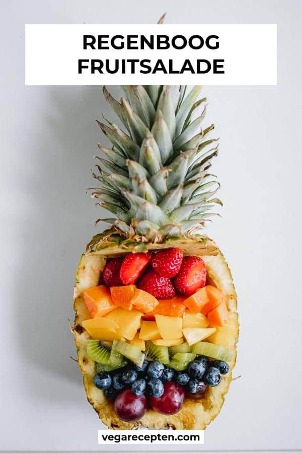 regenboog fruitsalade