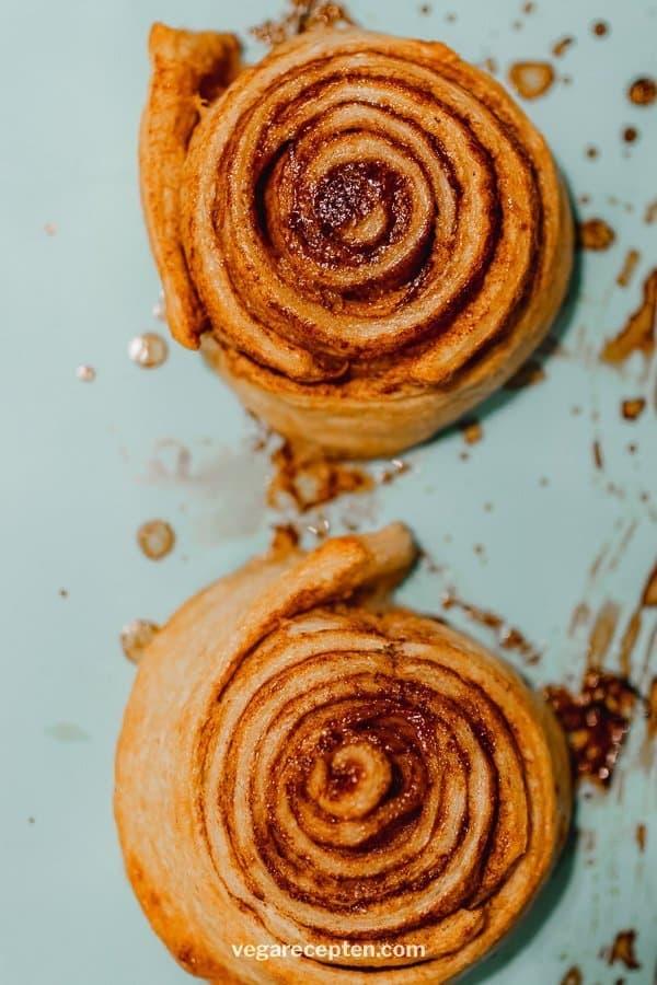Cinnamon rolls maken
