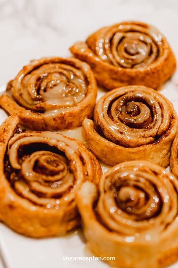 Cinnamon rolls recept met glazuur