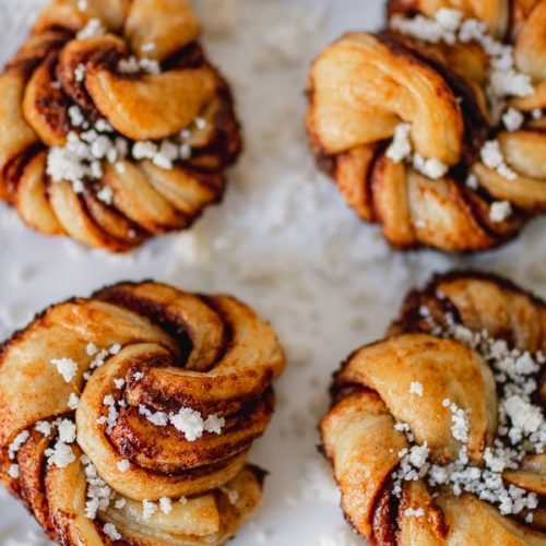 Puff Pastry Cinnamon Rolls The Swedish Way