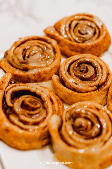 Vegan Cinnamon Rolls With Crescent Dough