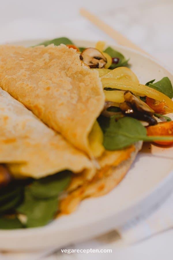 Hartige vegan pannenkoeken recept