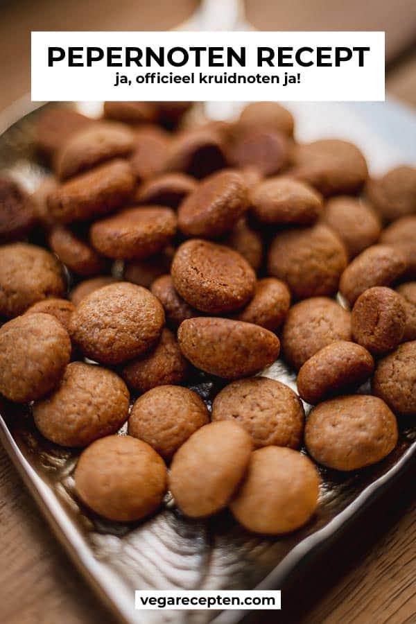 Pepernoten recept officieel kruidnoten