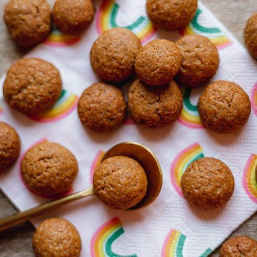 Peppernuts Recipe Small (Vegan) Gingerbread Cookies Recipe