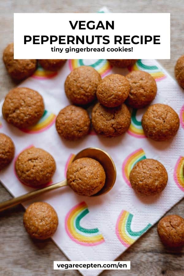 Vegan peppernuts recipe tiny gingerbread cookies
