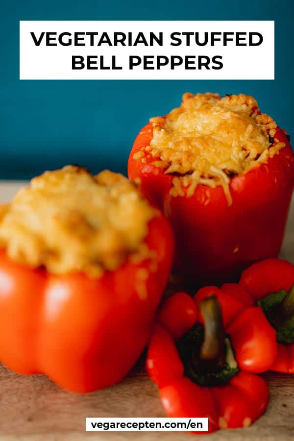 Vegetarian Stuffed Bell Pepper Recipe