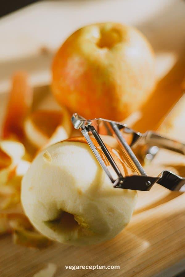 Appels voor appelbeignets appelflappen