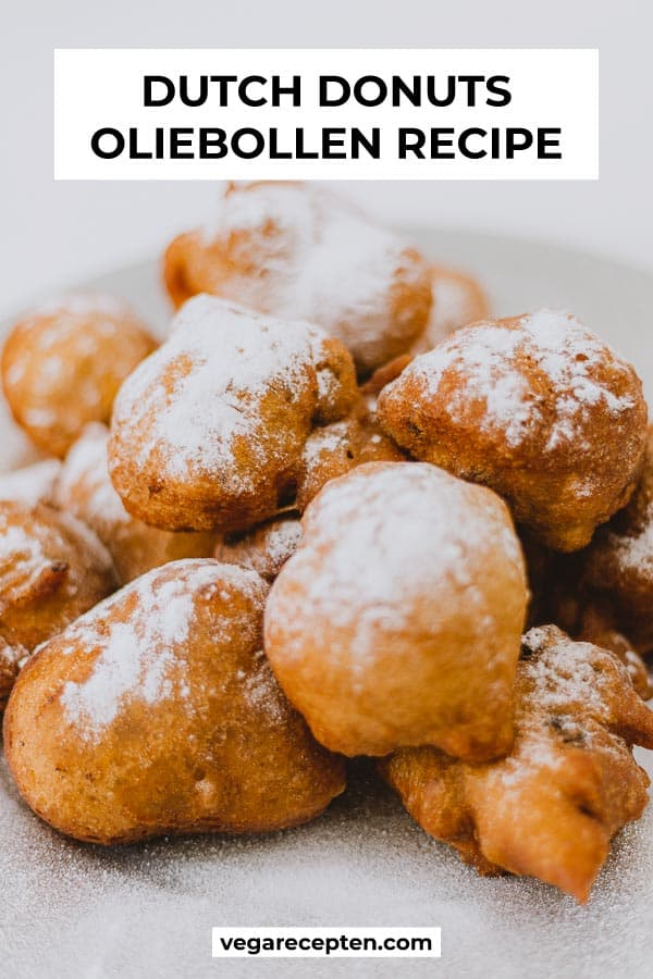 Dutch donuts oliebollen recipe