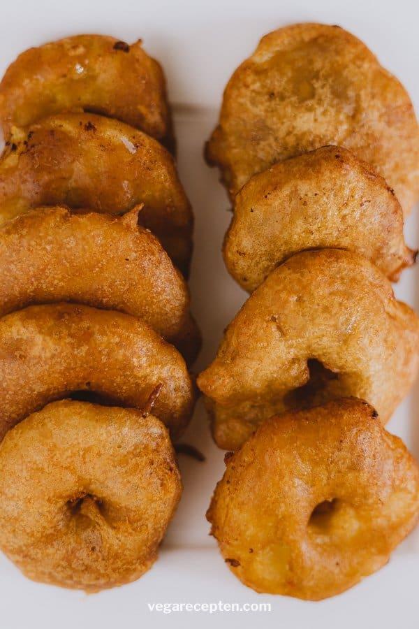 Vegan appelbeignets maken
