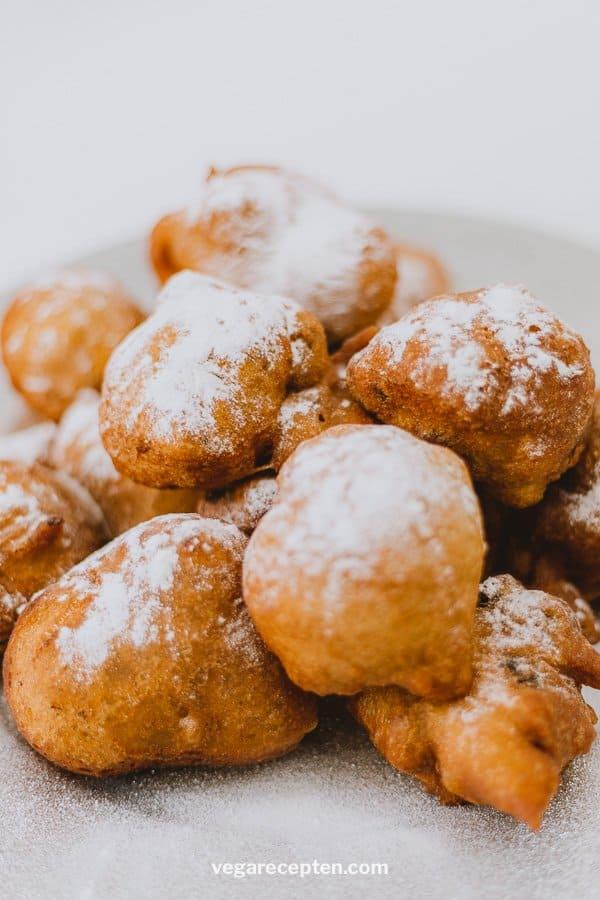 Vegan oliebollen recipe dutch donuts