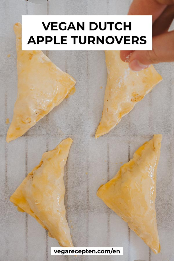 Vegan Dutch Apple Turnovers Recipe