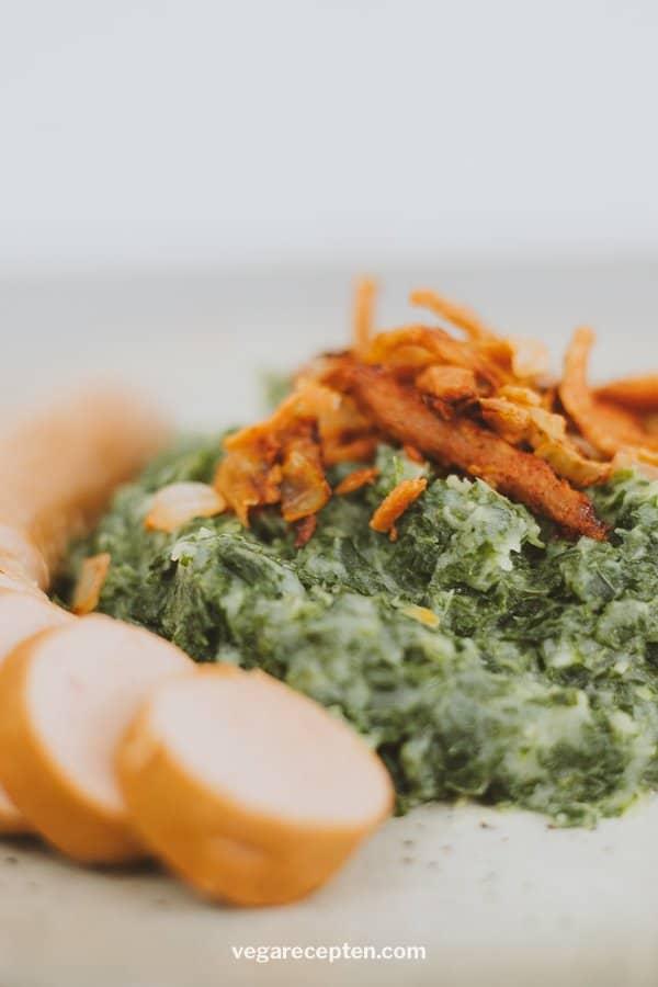 Dutch boerenkool mashed potatoes with kale