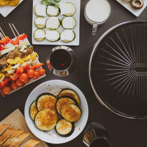 Vegetarisch gourmetten bijgerechten