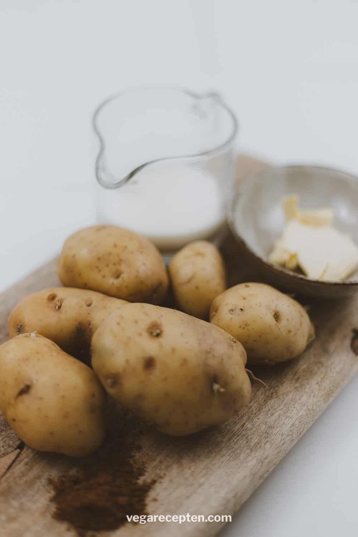 Aardappelpuree ingredienten