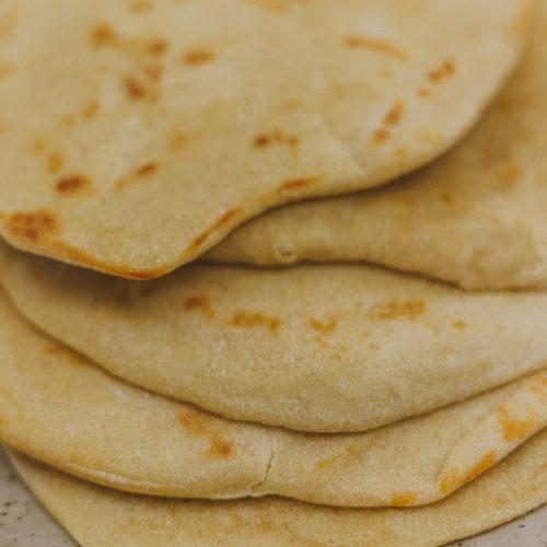 Roti pannenkoek maken platbrood recept