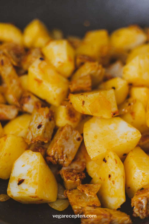 Roti masala maken
