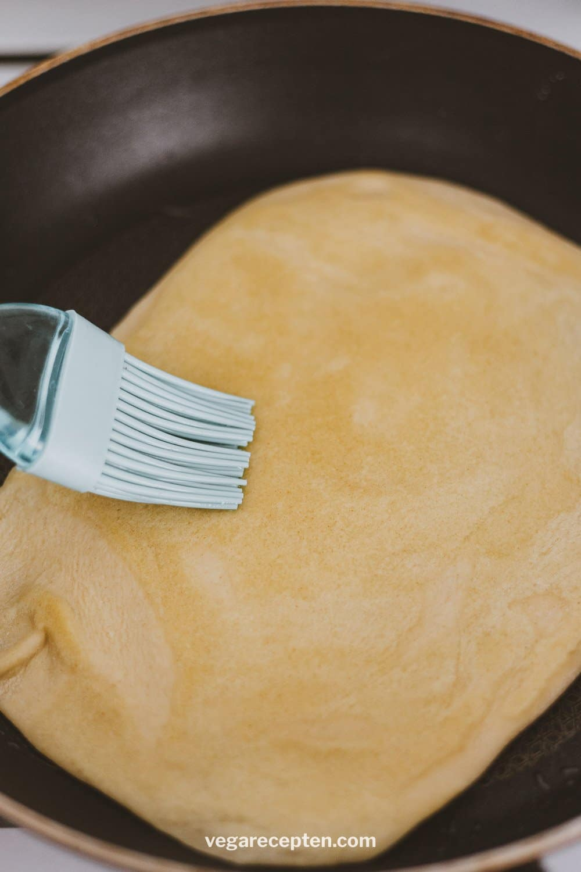 Roti platbrood bakken