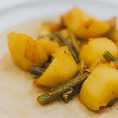 Vegetarische roti recept roti masala