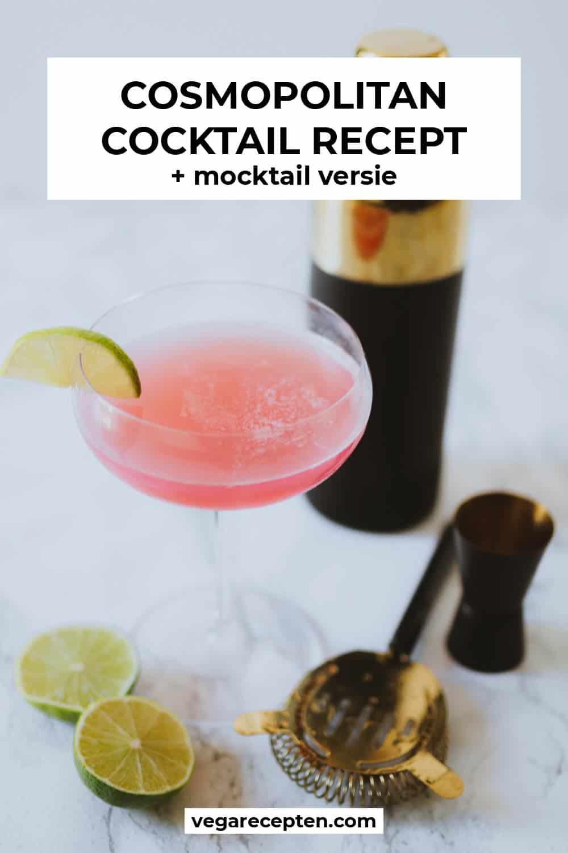 Cosmopolitan cocktail mocktail recept