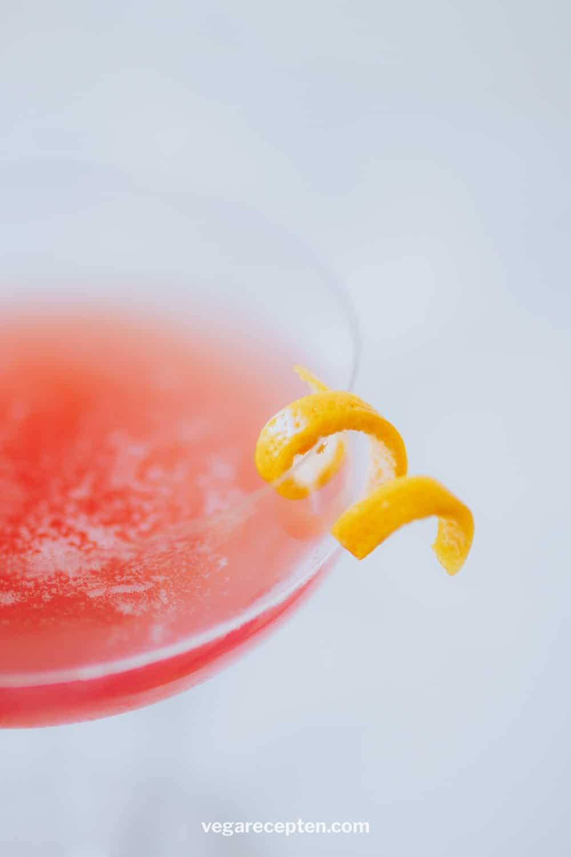 Cosmopolitan roze cocktail