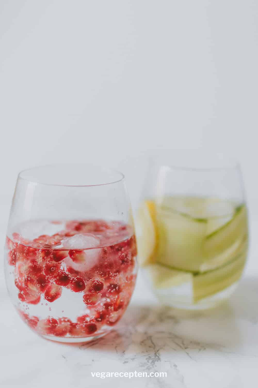 Gin cocktail recept granaatappel
