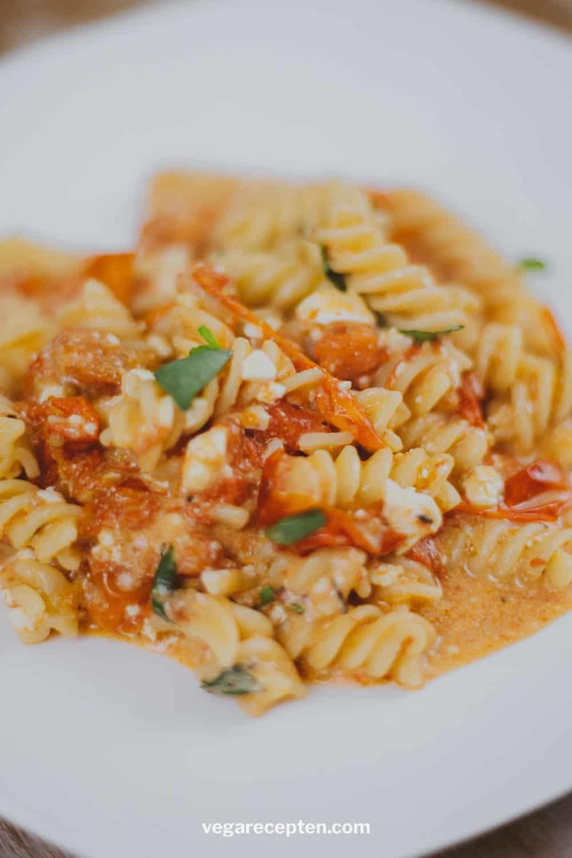 Tiktok pasta uit de oven recept