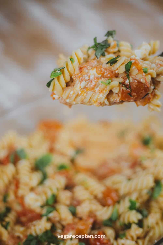 Vegetarische pasta recept