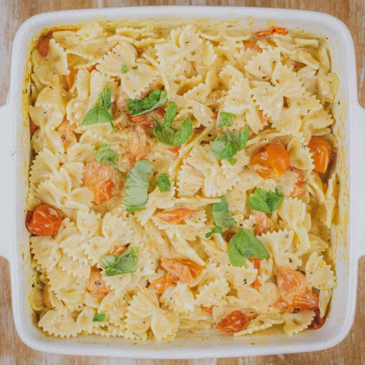 Boursin pasta recept