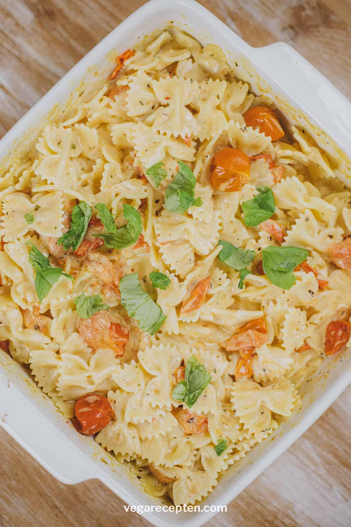 Boursin pasta recept vegetarisch